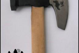 Изработка на контролна горска марка с острие тип брадва